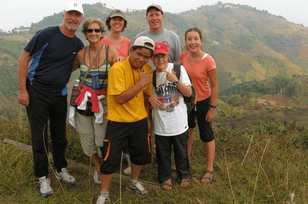 northern thailand hills adventure