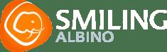 smiling albino company logo