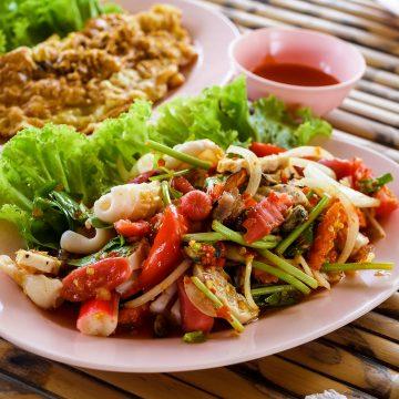 Thai Food: Where are the chopsticks?