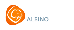 Smiling Albino