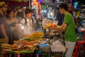 BKK THA Street food night Stock