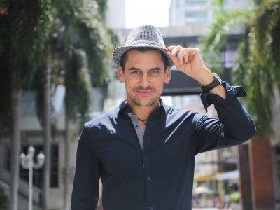 Dan in Hat