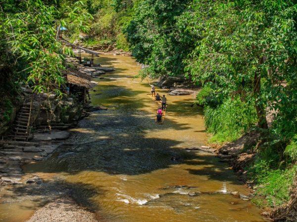 Mae Wang Bamboo Rafting Chiangmai THA