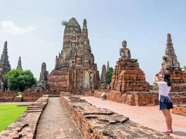 Wat Chaiwatthanaram Ayutthaya THA LR