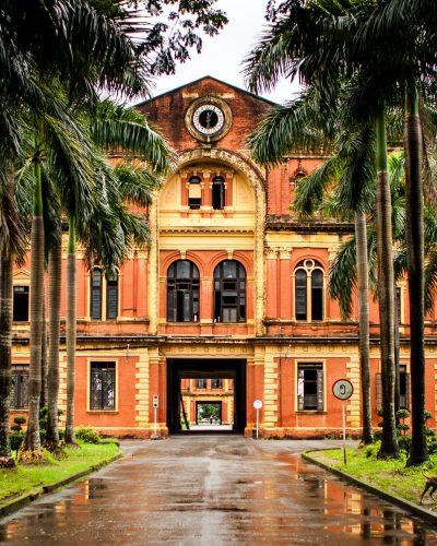 Myanmar Yangon Heritage walking - Secreteriat - Ministers' office