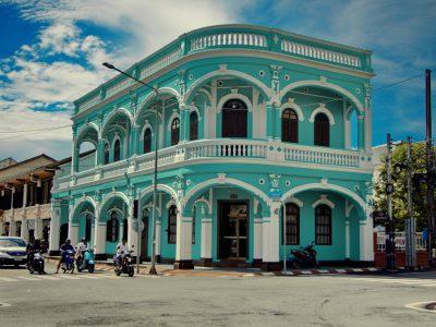 phuket old town building